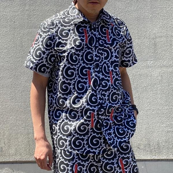 have a good time MIKIRI SS SHIRT BLACK 着用 (600x600).jpg