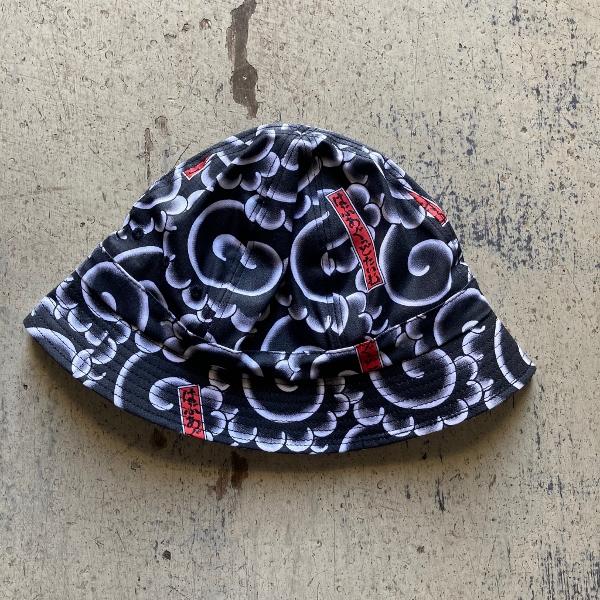 MIKIRI BUCKET HAT BLACK have a good time (600x600).jpg