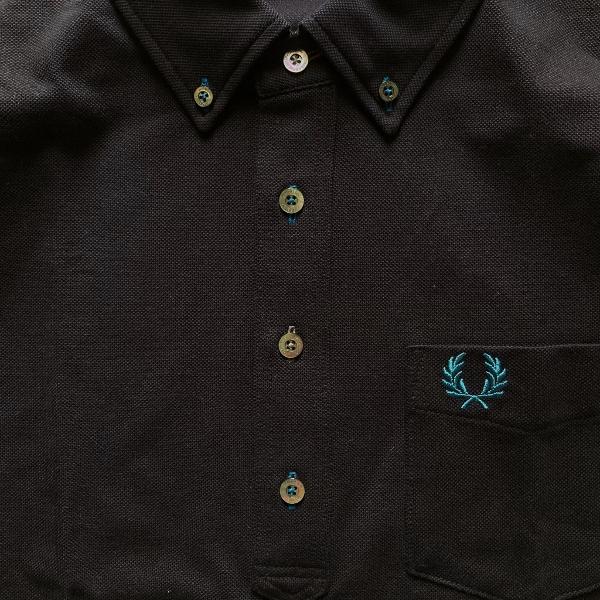 フレッドペリー B.D PIQUE SHIRT f1819 black (600x600).jpg