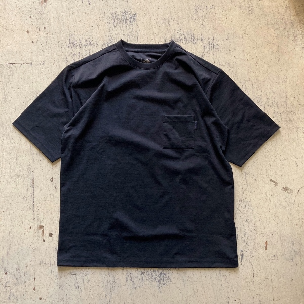 ショートスリーブエアリーポケットティー ノースフェイス ブラック (600x600).jpg