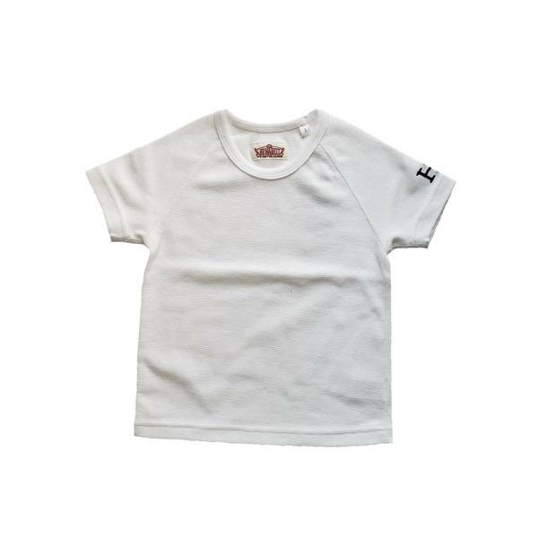 HRM ストレッチフライスショートスリーブTシャツ キッズ ネイビー ホワイト (600x600).jpg