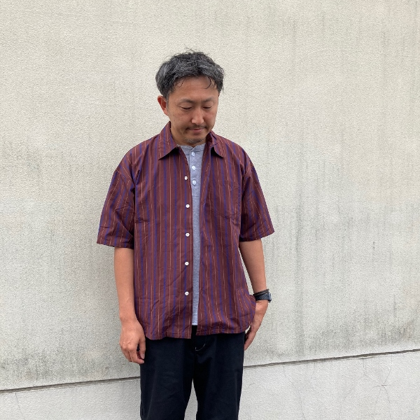 cal FRISCO STRIPE SHIRT 着用1 (600x600).jpg