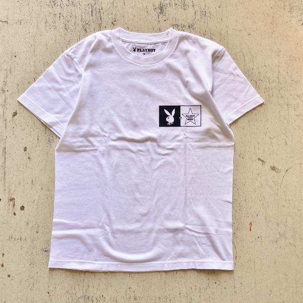 プレイボーイ・スクリーンスターズ・ハリウッドランチマーケット BIG LOGO Tシャツ (600x600).jpg