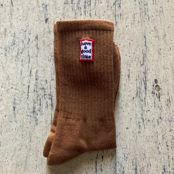 have a good time socks brown (600x600).jpg