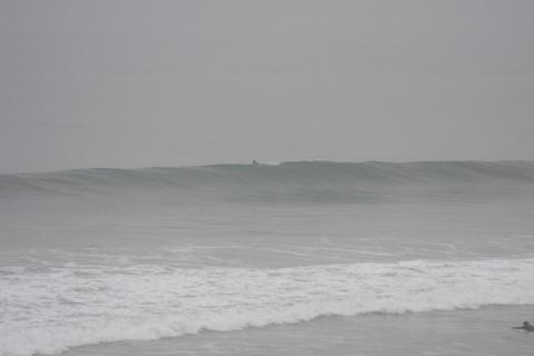 10月13日(水)朝、9時過ぎのクリフス。
