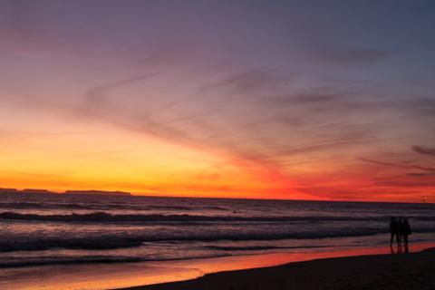 11月最後の夕日を撮りにサウスサイドに・・・・