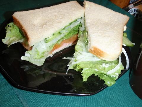 3度に一度はサンドイッチ・・・・が口癖のマスター・・・・サンドイッチ、復活!!