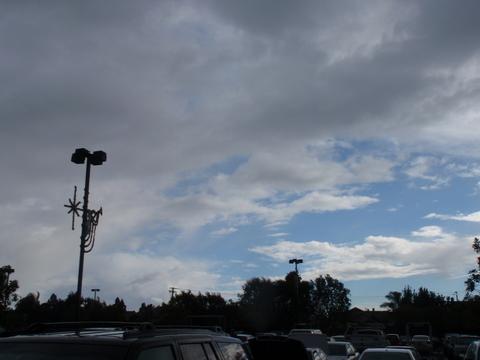 12月22日(水)一瞬除いた青空・・・・2:30過ぎ・・・