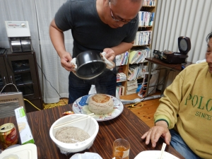 炊飯器でハンバーグ 023.JPG