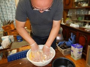 炊飯器でハンバーグ 014.JPG