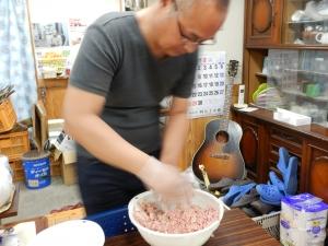 炊飯器でハンバーグ 010.JPG