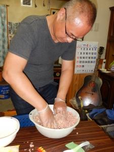 炊飯器でハンバーグ 008.JPG