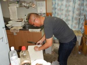 炊飯器でハンバーグ 004.JPG