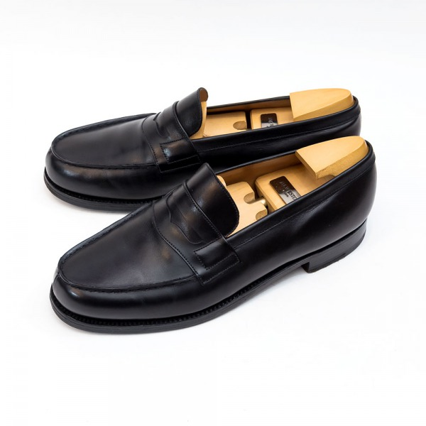 ジェイエムウエストン180シグニチャーローファーブラックサイズ6D