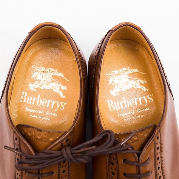 バーバリー大塚製靴製インペリアルグレード未使用品判別ソックシート