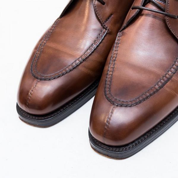 エドワードグリーンHalifox【ハリファックス】UチップチャッカブーツDOVER【ドーバー】ブーツ202ラスト比較