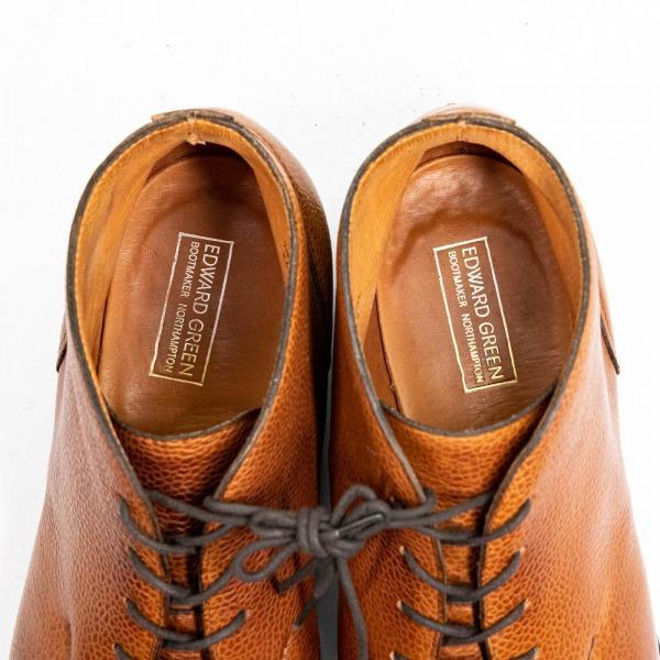 エドワードグリーンHalifox【ハリファックス】UチップチャッカブーツDOVER【ドーバー】ブーツ202ラストソックシート