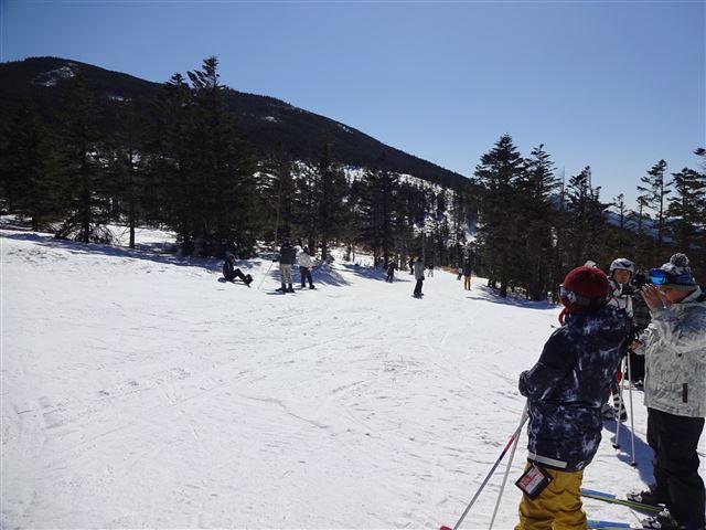 樹氷コース入口