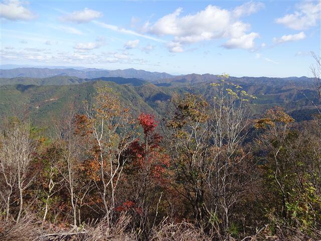 頂上からの景観