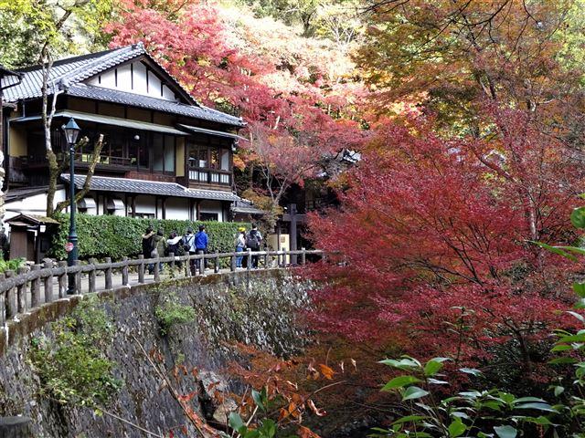 音羽山荘前
