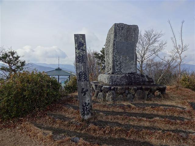 賤ヶ岳合戦場の碑