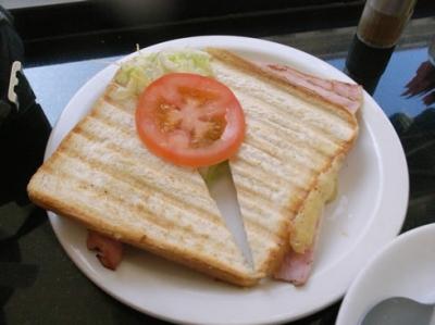 ロンドン 朝食