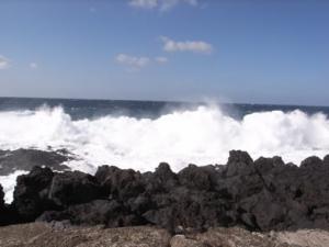 八丈島 波