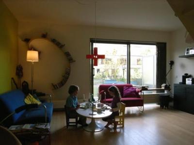 オランダのマンション