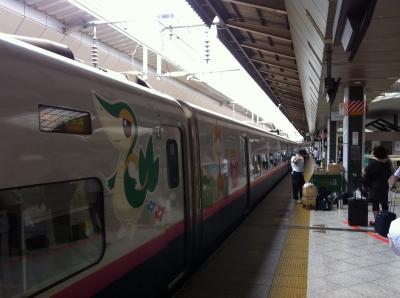 2011年仙台への旅 やまびこ