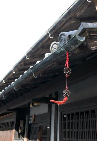 奈良の軒先