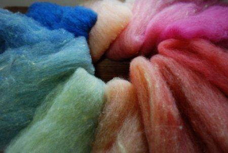 いろいろ羊毛