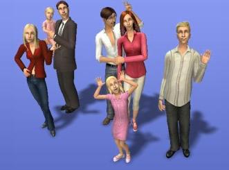 Sims2で作ったタナー一家