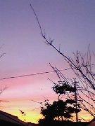美しい夕焼け♪