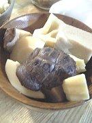 筍と椎茸とこうや豆腐の含煮♪
