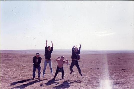 モンゴルでジャンプ!!
