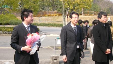 工学部・研究科を無事卒業されるお二人
