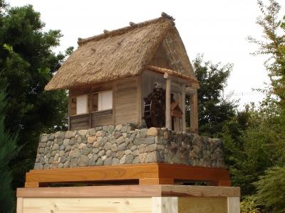 水車小屋の模型