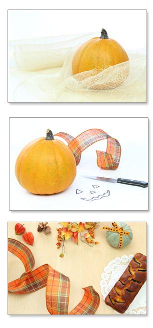 ハロウィン ハロウイン 南瓜 かぼちゃ カボチャ 大きい ハロウィンかぼちゃ 南瓜ケーキ かぼちゃケーキ パウンドケーキ リボン ホオズキ ナイフ お化け南瓜 かぼちゃランタン ジャックランタン ジャックオランタン ジャックオーランタン 秋 収穫祭