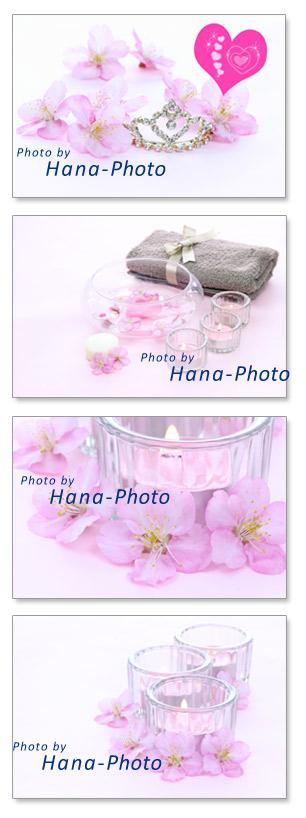 桜 アロマ アロマキャンドル さくら サクラ ティアラ ウエディング 髪飾り タオル 癒し リラックス 春 春の花 ピンク 花