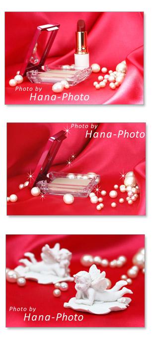 コスメ メイク用品 化粧品 ファンデーション 天使 パール 真珠 キラキラ 合成 口紅 リップスティック 赤 ゴージャス 布 ドレープ