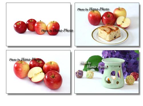 りんご リンゴ JAZZ ジャス ニュージーランド産 アロマ アロマポット 紫陽花 あじさい アジサイ 梅雨