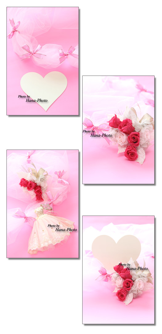 ピンク バレンタイン バレンタインデー ウエディングドレス ティアラ チュール リボン ウエディング 結婚 プリザーブドフラワー バラ ハート
