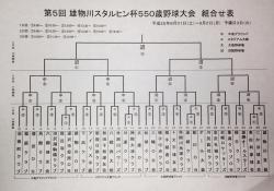 スタルヒン550組合せ表