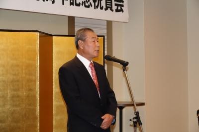 14 2回目の中締め佐々木主将.JPG