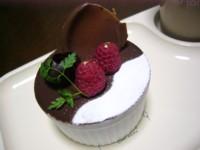 紅茶ムースケーキ
