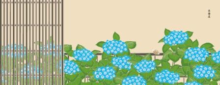 紫陽花とカタツムリ.jpg