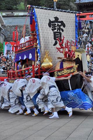八坂神社にて宝船