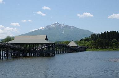 青森県弘前市で起業する社長のブログ_鶴田町 鶴の舞橋