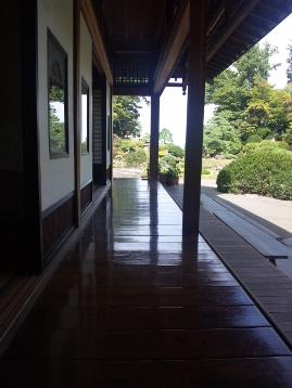 青森県弘前市で起業する社長のブログ_盛美園|借りぐらしのアリエッティ 廊下