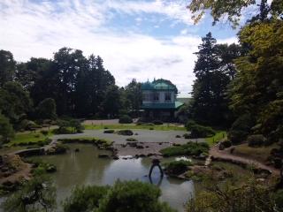 青森県弘前市で起業する社長のブログ_盛美園|借りぐらしのアリエッティ 中庭